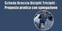 Allenamento Braccia ed Esercizi Braccia : La Scheda