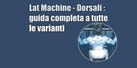 Lat Machine Avanti – tutte le varianti – guida completa