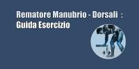 Rematore Manubrio – Dorsali con Manubri  : Guida Esercizi